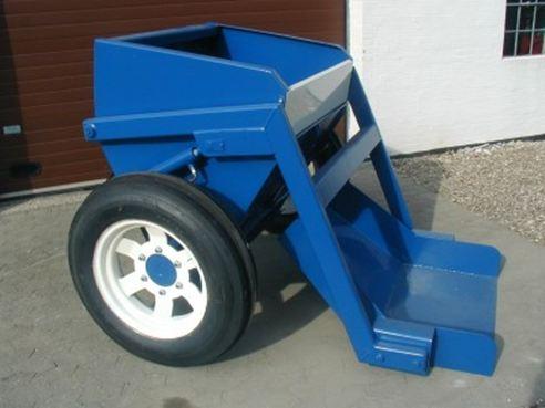 Smėlio mulčiavimo mašina