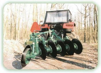Five disc plough P5T